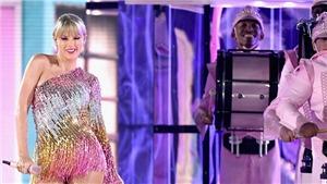 Fan 'tố' Taylor Swift đạo ý tưởng của Beyonce trong màn biểu diễn ở Billboard