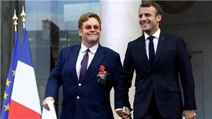 Elton John được Tổng thống Pháp trao huân chương Bắc đẩu Bội tinh