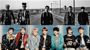 BXH nhóm nhạc nam tháng 11: Bigbang tái xuất, BTS nhiều tiêu cực vì Jungkook