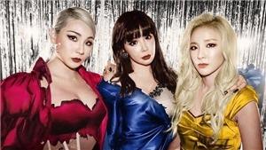 Ba thành viên 2NE1 tái hợp trên BXH Billboard