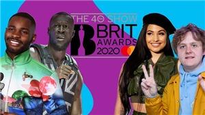 Lewis Capaldi và rapper Dave dẫn đầu đề cử giải âm nhạc BRIT