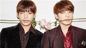 Đẹp như V và Jungkook BTS cũng có lúc làm nền cho ARMY thế này