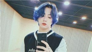 Cãi nhau không biết tóc mới của Jungkook BTS là... xanh hay tím