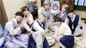 BTS đón năm mới Tân Sửu với trang phục siêu đáng yêu