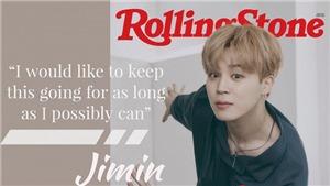 Jimin BTS thể hiện sự trưởng thành về cảm xúc trên Rolling Stone