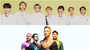 Coldplay xác nhận hát đôi với BTS bằng ảnh bìa siêu bí ẩn
