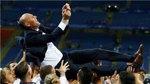Giành 6 cúp trong 19 tháng, Zidane xứng danh chuyên gia săn danh hiệu