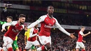 Video clip highlights bàn thắng trận Arsenal 2-1 Norwich