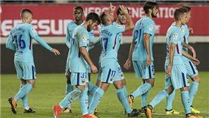 Video clip highlights bàn thắng trận Murcia 0-3 Barcelona