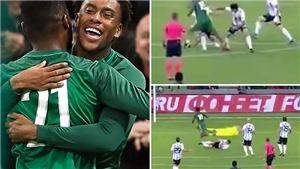 Fan Arsenal phát cuồng khi Iwobi lập cú đúp, 'xâu kim' Mascherano