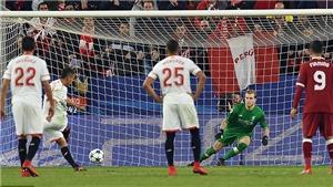 Video clips highlights bàn thắng trận Sevilla 3-3 Liverpool