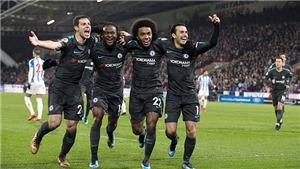 Video clip highlights bàn thắng trận Huddersfield 1-3 Chelsea