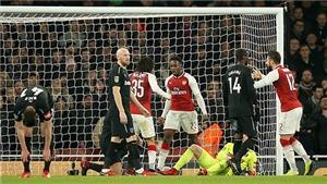 Video clip highlights bàn thắng trận Arsenal 1-0 West Ham: Người hùng Welbeck