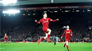 Video clip highlights bàn thắng trận Liverpool 5-0 Swansea: Đại tiệc ở Anfield