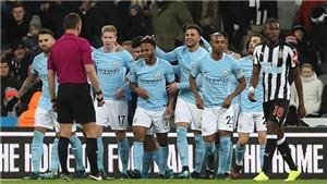 Video bàn thắng Newcastle 0-1 Man City: Người hùng Sterling