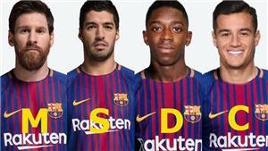 Đau đầu với biệt danh mới của hàng công Barca sau khi Coutinho tới Camp Nou