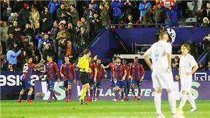 Levante 2-2 Real Madrid: Kém Barca 18 điểm, Zidane vẫn khẳng định chưa hết hy vọng