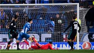 ĐIỂM NHẤN Espanyol 1-0 Real Madrid: Zidane 'buông' Liga, Bale không thể thay Ronaldo