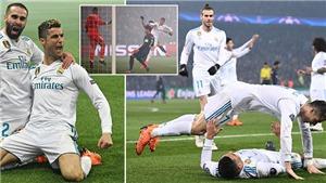 ĐIỂM NHẤN PSG 1-2 Real Madrid: Đẳng cấp Real, kỷ lục của Ronaldo, và sự tới hạn của PSG