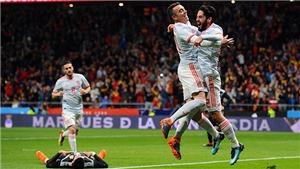 Video clip highlights bàn thắng Tây Ban Nha 6-1 Argentina: 'Set tennis' kinh hoàng