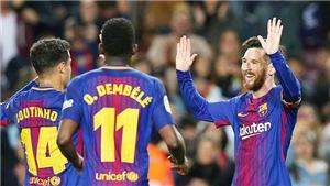 Video bàn thắng Barcelona 3-1 Leganes: Không thể cản nổi thiên tài Messi