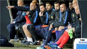 Video clip highlights bàn thắng Celta Vigo 2-2 Barca: Roberto bị đuổi, mất điểm vì 'Bàn tay của Chúa'