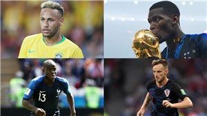 Pogba, Neymar, và những ngôi sao lớn lỡ hẹn với giải thưởng The Best của FIFA