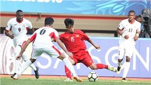 Thua U19 Jordan, cơ hội đi tiếp của U19 Việt Nam còn bao nhiêu?