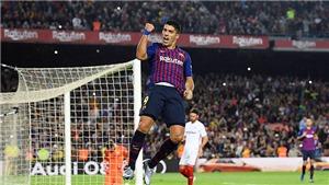 Video Barcelona 4-2 Sevilla: Messi chấn thương, che mờ chiến thắng