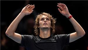 Zverev đã hạ gục Djokovic như thế nào để vô địch ATP Finals 2018?