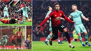 ĐIỂM NHẤN M.U 2-2 Arsenal: De Gea mất tập trung. Arsenal công làm thủ phá