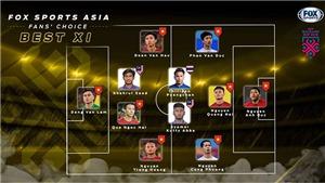 Đội hình tiêu biểu AFF Cup 2018 do fan bình chọn: Việt Nam áp đảo với 8/11 vị trí