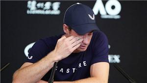 XÚC ĐỘNG: Andy Murray gạt lệ thông báo quyết định giải nghệ