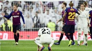 Tây Ban Nha vòng 26: Real Madrid thêm một lần nuốt hận trước Barca