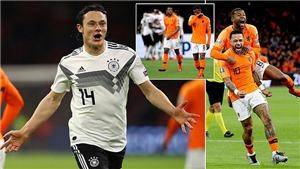 VIDEO Hà Lan 2-3 Đức: Đức chiến thắng sau màn rượt đuổi ngoạn mục ở Amsterdam