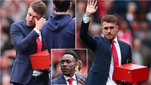 Xúc động khoảnh khắc Ramsey rơi nước mắt nói lời chia tay Arsenal