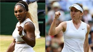 Link xem trực tiếp tennis: Serena Williams vs Simona Halep (20h00, 13/7). Trực tiếp Wimbledon 2019