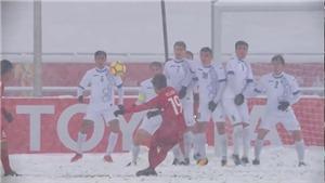 Siêu phẩm 'Cầu vồng tuyết' của Quang Hải nhận giải Bàn thắng biểu tượng trong lịch sử U23 châu Á