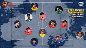 Đội hình tiêu biểu U23 châu Á 2020: Người Hàn áp đảo, Thái Lan góp 1 đại diện