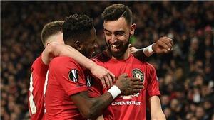 Ngoại hạng Anh vòng 28: MU áp sát Top 4, Tottenham gặp khó, Liverpool thua cực sốc