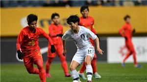 Vòng loại Olympic 2020 khu vực châu Á:Myanmar thảm bại,Việt Nam rộng cửa đá play-off