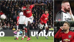 ĐIỂM NHẤN Derby County 0-3 MU: Luke Shaw xuất sắc, Ighalo che mờ Rooney