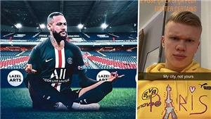 Neymar đã lên kế hoạch báo thù Erling Haaland