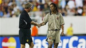 Paul Scholes: 'MU từng chuẩn bị sẵn số áo cho Ronaldinho...'