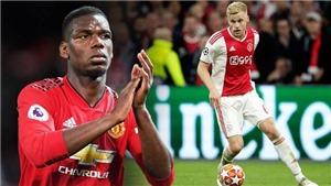 Tin bóng đá MU 3/5: Roma muốn giải cứu Alexis Sanchez. MU nhắm Van de Beek thay Pogba
