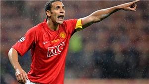 Rio Ferdinand được bầu là hậu vệ hay nhất lịch sử Ngoại hạng Anh