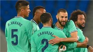ĐIỂM NHẤN Real Sociedad 1-2 Real Madrid: Thắng tranh cãi, Real thấy cửa vô địch