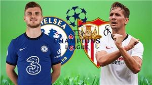 Link xem trực tiếp bóng đá. Chelsea vs Sevilla. Xem trực tiếp vòng bảng cúp C1