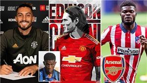 Chuyển nhượng bóng đá châu Âu ngày cuối: MU đón 4 tân binh, Arsenal mua Partey, Juve có Chiesa