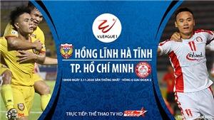 Link xem trực tiếp bóng đá. Hà Tĩnh vs TPHCM. Xem trực tiếp Bóng đá Việt Nam